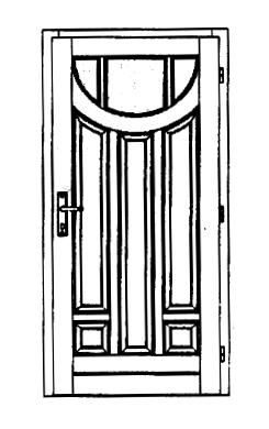 Szigetelt bejárati ajtók-1