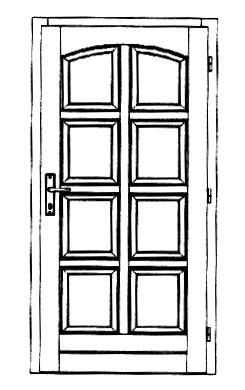 Szigetelt bejárati ajtók-10