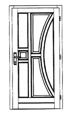 Szigetelt bejárati ajtók-22