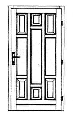 Szigetelt bejárati ajtók-23