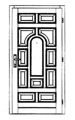 Szigetelt bejárati ajtók-28