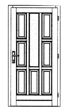 Szigetelt bejárati ajtók-31